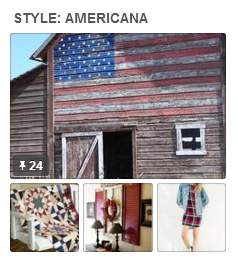 Americana-pinboard