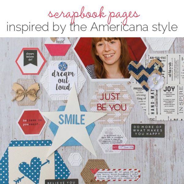Ideas for Scrapbook Page Storytelling with an Americana Style | Get It Scrapped
