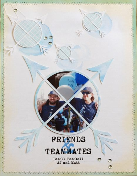 Ideas for Scrapbook Page Storytelling with the Arrow Motif | Betsy Sammarco | Get It Scrapped
