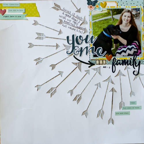 Ideas for Scrapbook Page Storytelling with the Arrow Motif | Megan Blethen | Get It Scrapped