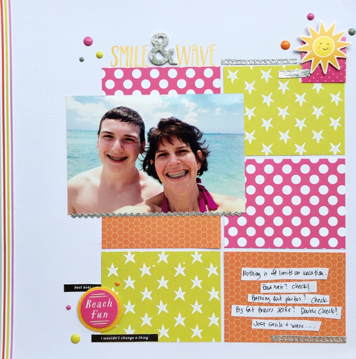 Ideas for Using Trendy Color Combos in Your Scrapbook Pages | Devra Hunt | Get It Scrapped