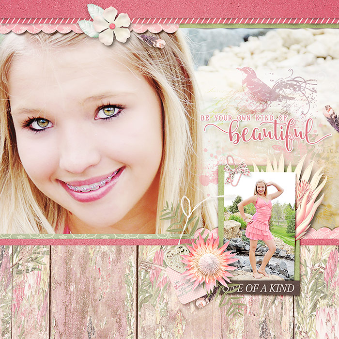 Ideas for Using Trendy Color Combos in Your Scrapbook Pages | Deborah Wagner | Get It Scrapped