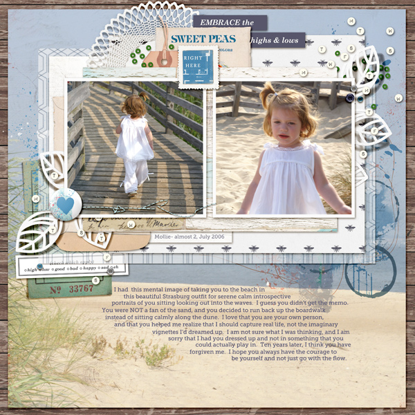 Ideas for Using Trendy Color Combos in Your Scrapbook Pages | Kelly Prang | Get It Scrapped