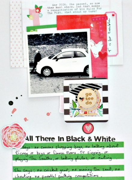 Ideas for Using Trendy Color Combos in Your Scrapbook Pages | Sian Fair | Get It Scrapped