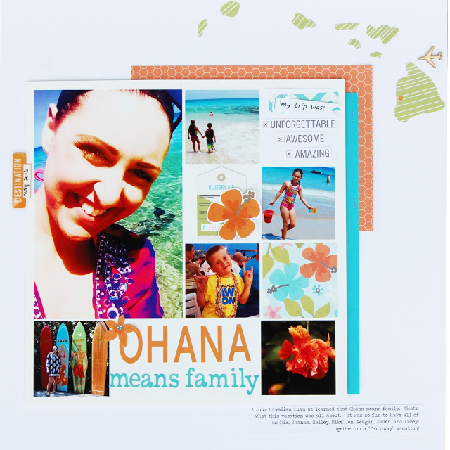 Ideas for Using Trendy Color Combos in Your Scrapbook Pages | Shanna Hystad | Get It Scrapped