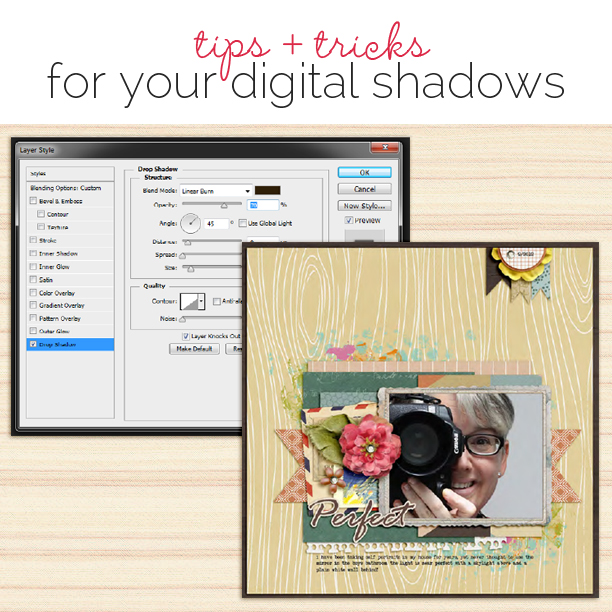 Drop Shadow Tips and Tricks for Your Digital Scrapbook Pages | Get It Scrapped