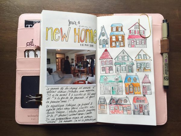 Ideas for Creating Hand-Drawn and Hand-Painted Patterns to Use on Your Scrapbook Pages | Marie-Pierre Capistran | Get It Scrapped