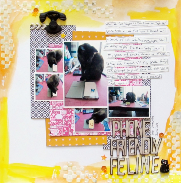 Scrapbooking Ideas for Using Crayons on Your Scrapbook Pages | Christy Strickler | Get It Scrapped