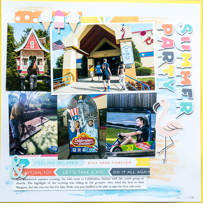 Scrapbooking Ideas for Using Crayons on Your Scrapbook Pages | Kelly Sroka | Get It Scrapped