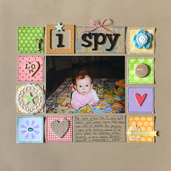 Scrapbooking Ideas for Using Crayons on Your Scrapbook Pages | Kristy T | Get It Scrapped
