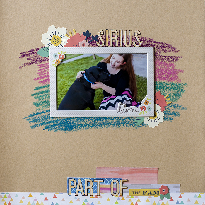 Scrapbooking Ideas for Using Crayons on Your Scrapbook Pages | Megan Blethen | Get It Scrapped