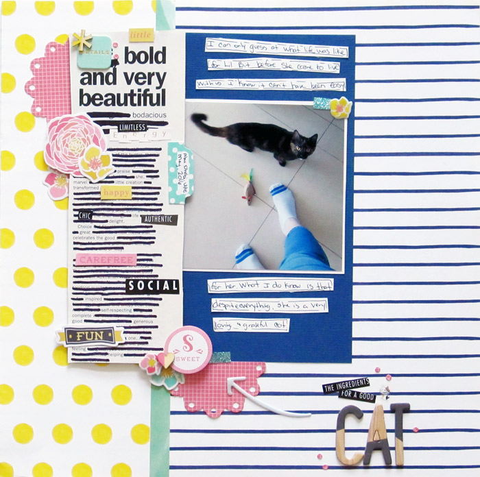 Scrapbook Page Storytelling with Cross-Out Poems | Christy Strickler | Get It Scrapped