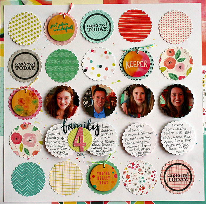 Scrapbook Page Designs Inspired by Board Games | Nicole Mackin | Get It Scrapped