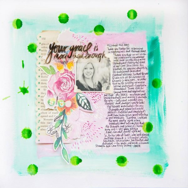 5 Liftable Ideas from 1 Scrapbook Page by Wilna Furstenberg | Get It Scrapped