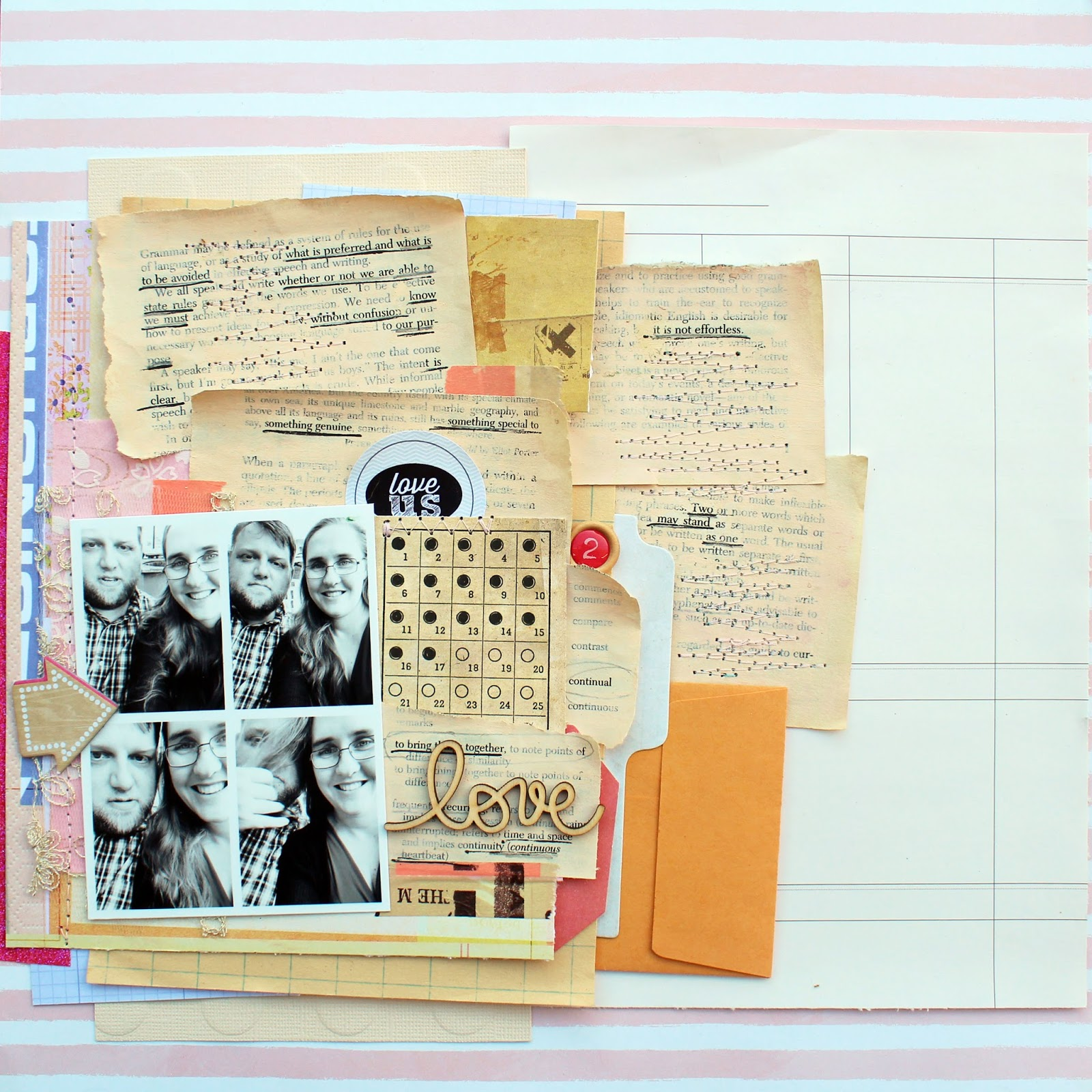 Scrapbook Page Storytelling with Cross-Out Poems | Jill Sprott | Get It Scrapped