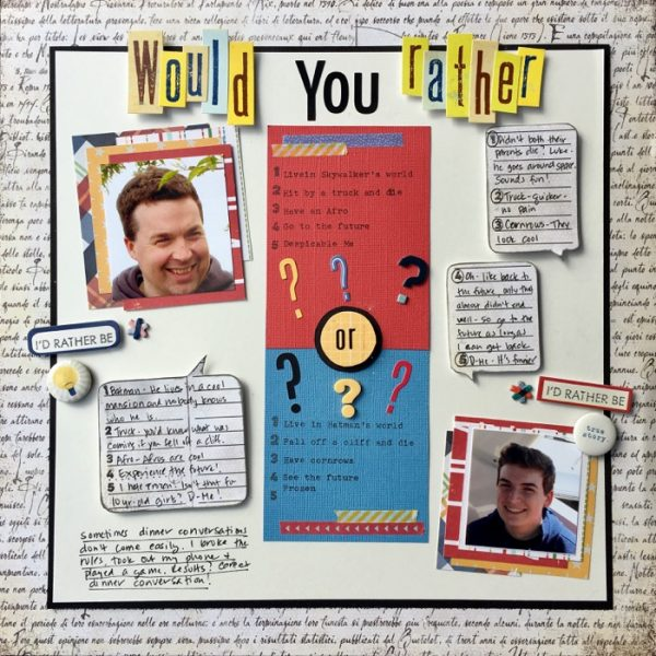 Scrapbook Ideas for Using a Q + A Journaling Approach | Devra Hunt | Get It Scrapped