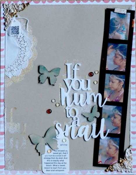 Scrapbooking Ideas Reveal Setting with Color, Shape and Texture | Betsy Sammarco | Get It Scrapped