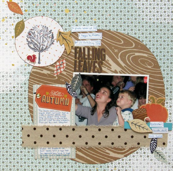 Scrapbooking Ideas Reveal Setting with Color, Shape and Texture | Christy Strickler | Get It Scrapped