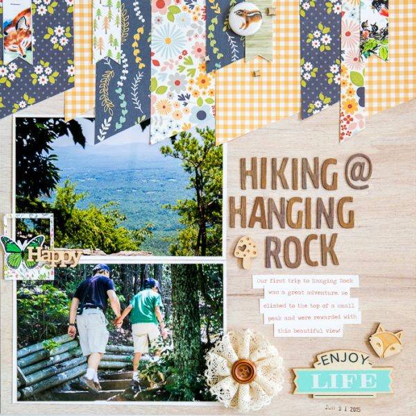 Scrapbooking Ideas Reveal Setting with Color, Shape and Texture | Kelly Sroka | Get It Scrapped