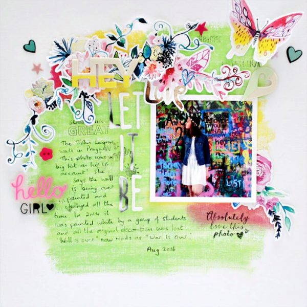 Scrapbooking Ideas Reveal Setting with Color, Shape and Texture | Sian Fair | Get It Scrapped