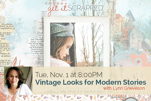Vintage Looks for Modern Stories | Free LIVE Class With Lynn Grieveson