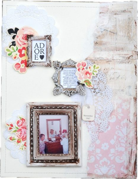 Ideas for Scrapbook Page Storytelling with an English Countryside Style   Betsy Sammarco   Get It Scrapped