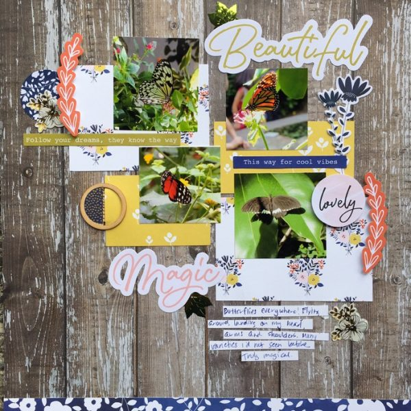 Ideas for Scrapbook Page Storytelling with an English Countryside Style   Devra Hunt   Get It Scrapped