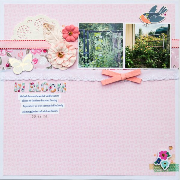 Ideas for Scrapbook Page Storytelling with an English Countryside Style   Kelly Sroka   Get It Scrapped