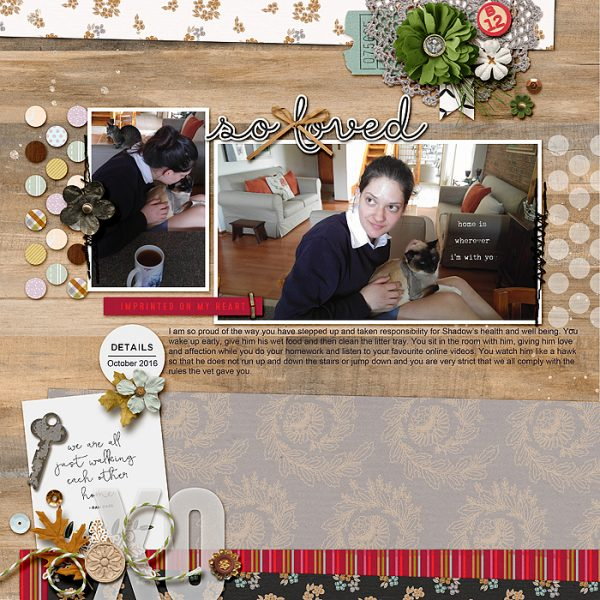 Ideas for Scrapbook Page Storytelling with an English Countryside Style   Stefanie Semple   Get It Scrapped