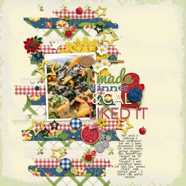 Page Ideas for Scrapbooking Your Food | Karen-Poirier-Brode | Get It Scrapped