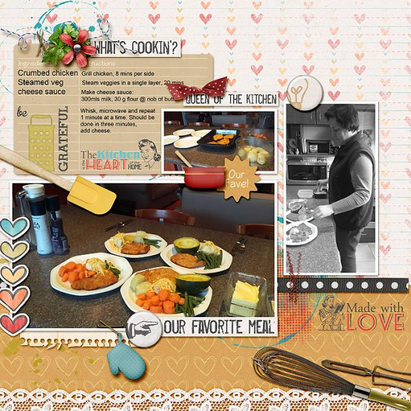 Page Ideas for Scrapbooking Your Food | Stefanie Semple | Get It Scrapped