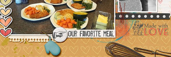 Page Ideas for Scrapbooking Your Food