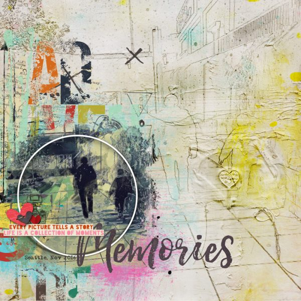 Scrapbook Ideas for Using Active White Space | Jana Oliveira | Get It Scrapped