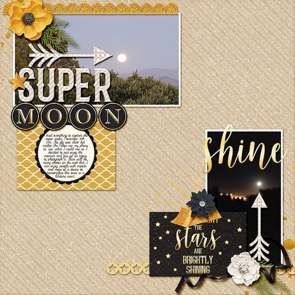 Scrapbook Ideas for Using Active White Space | Stefanie Semple | Get It Scrapped