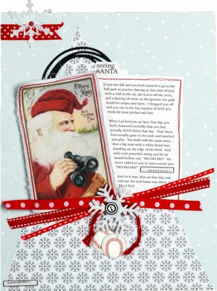 Scrapbook Pages Inspired by the Nordic Christmas Style | Betsy Sammarco | Get It Scrapped