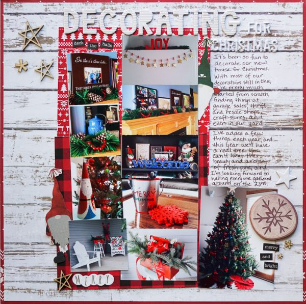 Scrapbook Pages Inspired by the Nordic Christmas Style | Marcia Fortunato | Get It Scrapped