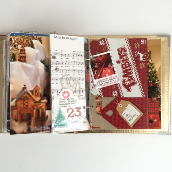 Scrapbook Pages Inspired by the Nordic Christmas Style | Marie-Pierre Capistran | Get It Scrapped