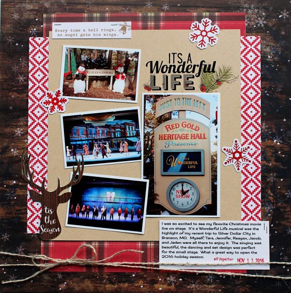 Scrapbook Pages Inspired by the Nordic Christmas Style | Shanna Hystad | Get It Scrapped