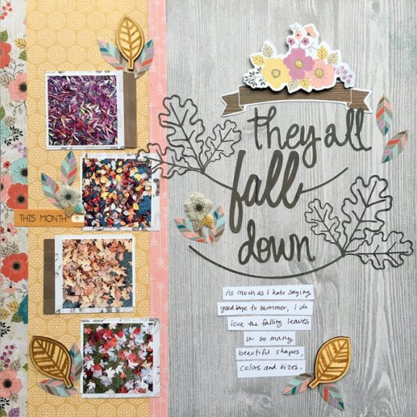 Scrapbook Ideas for Using Patterned Papers to Strengthen Your Design | Devra Hunt | Get It Scrapped