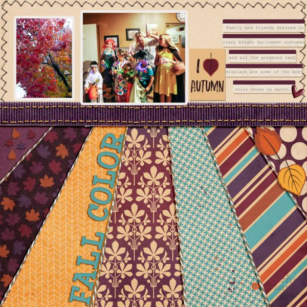 Scrapbook Ideas for Using Patterned Papers to Strengthen Your Design | Karen Poirier-Brode | Get It Scrapped