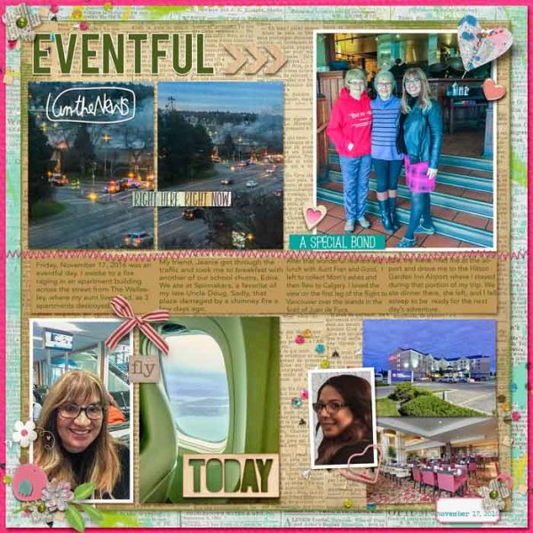 """Scrapbook Ideas for Visual Storytelling with a """"Photo Journalist"""" Story Style 