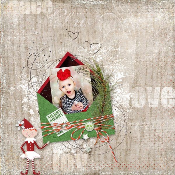 3 Design Solutions that Give Complementary Colors Red and Green New Life on Your Holiday Pages   Deborah Wagner   Get It Scrapped
