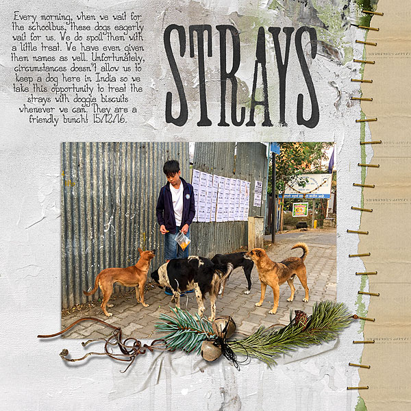 Ideas for Scrapbook Page Storytelling with a Wabi-Sabi Style | Audrey Tan | Get It Scrapped