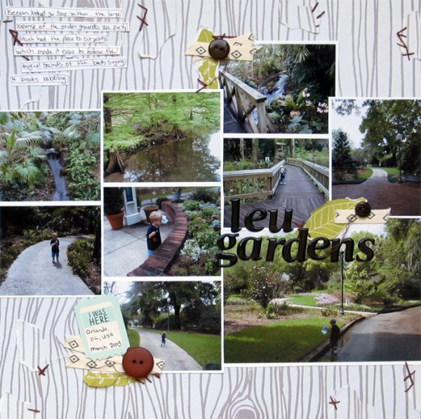 Ideas for Scrapbook Page Storytelling with a Wabi-Sabi Style | Christy Strickler | Get It Scrapped