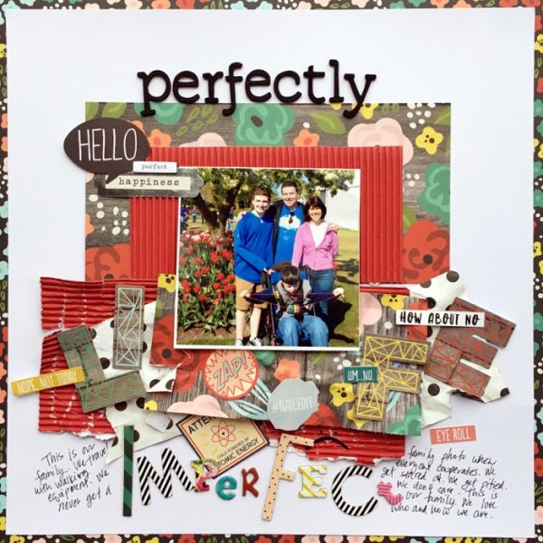 Ideas for Scrapbook Page Storytelling with a Wabi-Sabi Style | Devra Hunt | Get It Scrapped