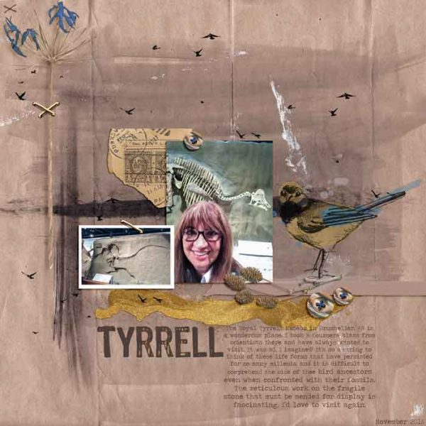 Ideas for Scrapbook Page Storytelling with a Wabi-Sabi Style | Karen Porier-Brode | Get It Scrapped