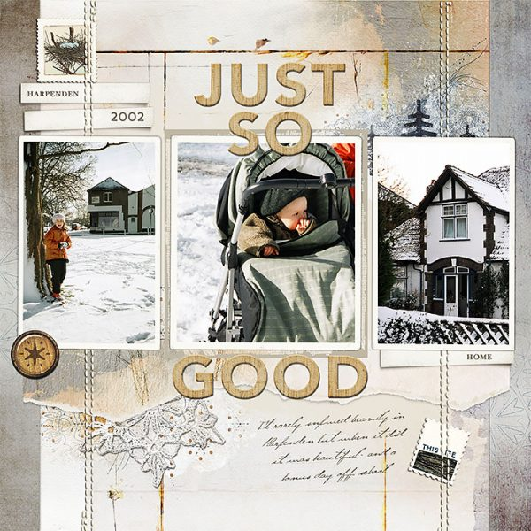 Ideas for Scrapbook Page Storytelling with a Wabi-Sabi Style | Lynn Grieveson | Get It Scrapped