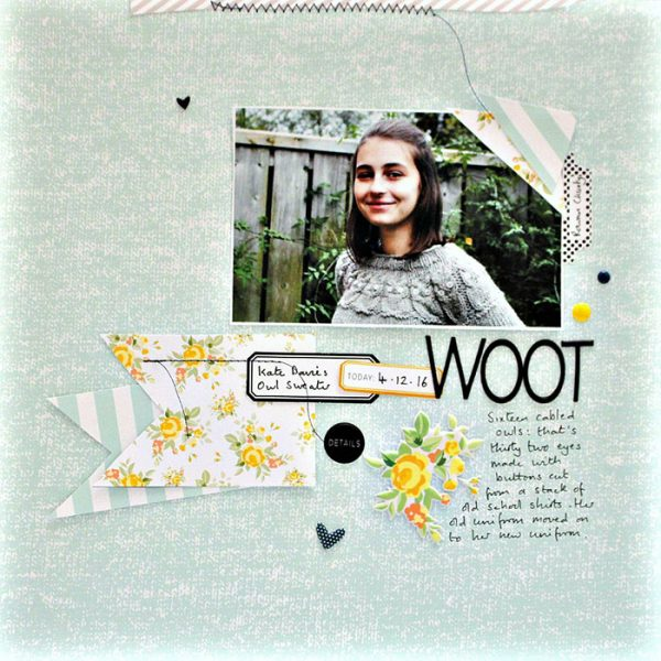 Ideas for Scrapbook Page Storytelling with a Wabi-Sabi Style | Sian Fair | Get It Scrapped