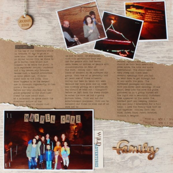 Ideas for Scrapbook Page Storytelling with a Wabi-Sabi Style | Shanna Hystad | Get It Scrapped
