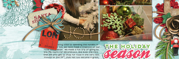3 Design Solutions that Give Complementary Colors Red and Green New Life on Your Holiday Pages